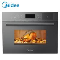 美的Midea R3嵌入式微波炉蒸烤箱一体机 BG3403(R3)智能家用镶内嵌入式微波炉电蒸箱电烤箱微蒸烤一体机34L