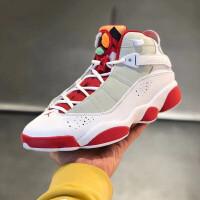 耐克Air Jordan 6 Rings AJ6白�t 六冠王 兔八哥�@球鞋DD5077-105