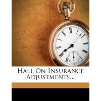 【预订】Hall on Insurance Adjustments...