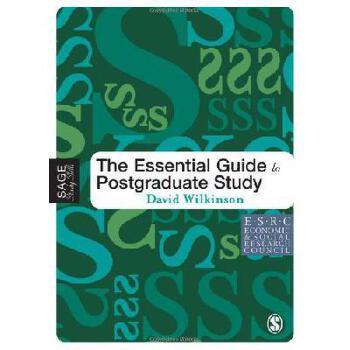 【预订】The Essential Guide to Postgraduate Study 美国库房发货,通常付款后3-5周到货!