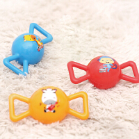 【当当自营】费雪(Fisher Price)玩具 儿童玩具球三合一 宝宝糖果摇铃球3寸(红黄蓝三款 无需充气)F090