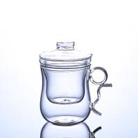 耐热玻璃茶具厂家批发创意耐高温花茶杯玻璃杯子美体办