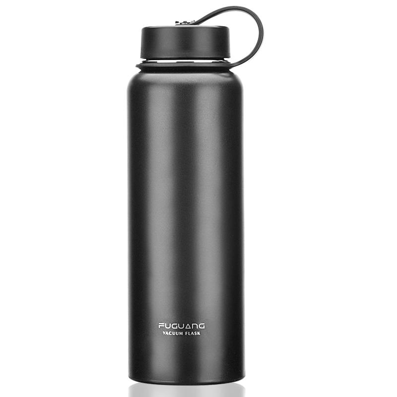 便携水杯茶杯子1000ml大容量保温杯304不锈钢保温水壶