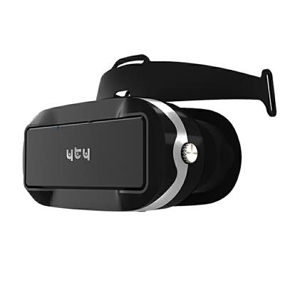 vr虚拟现实游戏头盔头戴式立体3d眼镜 VR一体机 私人影院随身带 支持360度陀螺仪  wifi  蓝牙连接 支持触摸