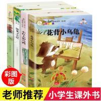 正版 名家儿童文学精选系列冰波王一梅童话故事全4册花背小乌龟雨街的猫恐龙6-7-8-10-12岁小学生必读课外读物童话