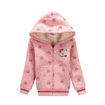 【满200-100】binpaw2017冬季新款女款外套中大童宝宝保暖连帽女孩外套开学爆到啦!全店满100-50 200-100 ……