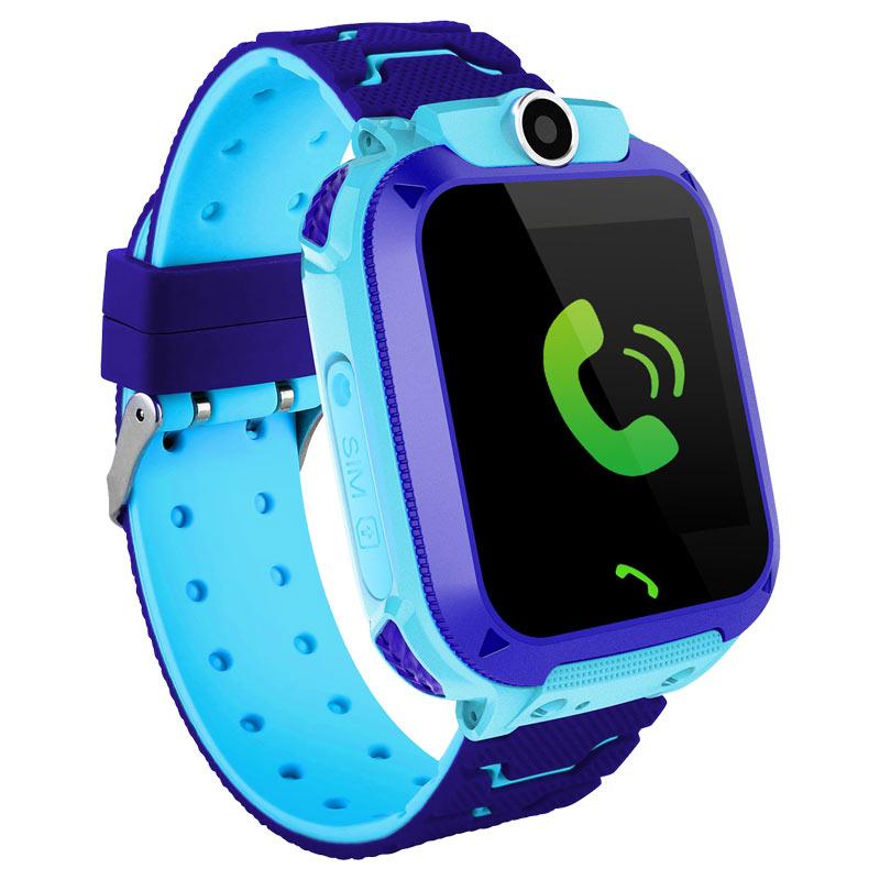 爱百分儿童智能电话手表360度安全防护防水拍照学生定位手机 实时定位 双向通话 深度防水