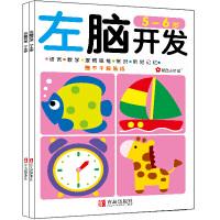 左脑开发右脑开发 5-6岁(全2册)