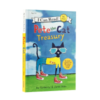英文原版 皮特猫 6个故事合辑 I Can Read Pete the Cat Treasury (I can read)