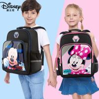 迪士尼书包小学生男童双肩包1-3年级米奇书包6-12周岁儿童书包女