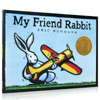 我的兔子朋友启发硬壳精装绘本讲述友谊的故事适合3岁以上亲子共读荣获凯迪克金奖作品正版童书