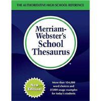 韦氏 Merriam-Webster's School Thesaurus