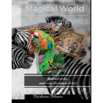 预订 MAGICAL WORLD Beautiful Animals: Adult Grayscale Colorin