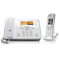 集怡嘉(Gigaset)西门子 C810 2.4GHz数字无绳电话机(珍珠白)彩屏
