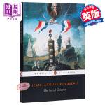 【中商原版】社会契约论 英文原版The Social Contract Jean-Jacques Roussea Pe