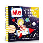 英文原版进口绘本 我和我在太空中的位置 Me And My Place In Space 趣味科普英语读物 儿童启蒙早