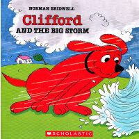 Clifford and the Big Storm大红狗与暴风雨 ISBN9780590257558