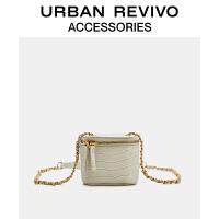 URBAN REVIVO2021春夏新品女士配件时尚小巧斜挎包AY20BB4N2000