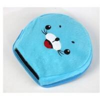 暖手鼠标垫 保暖鼠标垫 可爱加热发热 USB暖手鼠标垫 蓝海豹