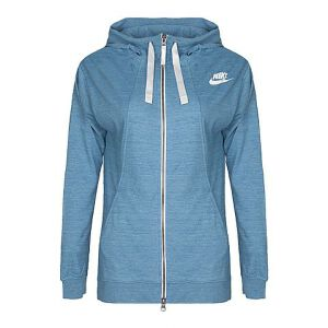 NIKE耐克新款女子AS W NSW GYM CLC HOODIE FZ夹克854962-449