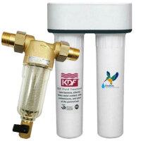 霍尼韦尔中央前置过滤器FF06净水器+DOULTON道尔顿直饮机FIP201