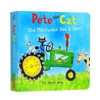 进口英文原版 Pete the Cat: Old MacDonald Had a Farm 皮特猫:老麦克唐纳有一个农场