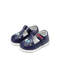 【119元任选2双】迪士尼Disney童鞋女童休闲小皮鞋时尚公主鞋婴幼童 HS0843 HS0848