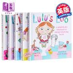【中商原版】露露 Lulu's系列5册全套装 英文原版 精装触摸操作书 幼儿启蒙 儿童绘本
