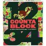 【限量现货】英文原版 Countablock 0-3岁色彩趣味认知厚书:数数 精装趣味认知砖块书 根据图形或物体练习数