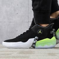 Nike Jordan 威少简版 黑绿 缓震实战篮球鞋 CK6617-002