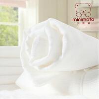 minimoto小米米 婴儿纱布尿布宝宝棉尿布5条装 YA0301