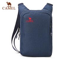 caeml骆驼户外挎包 2L男女通用耐磨单肩包野营旅游休闲包