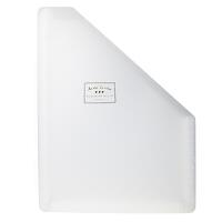 国誉(KOKUYO)DFCS135T淡彩曲奇 站立式票据风琴包 竖式A4/13P文件夹试卷收纳袋 透明当当自营