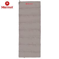 【开学季】Marmot/土拨鼠户外旅行四季保暖室内露营信封式棉睡袋1.9米