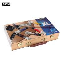 法国Pebeo贝碧欧XL油画木盒装8色20ml初学者套装920862C礼品礼物