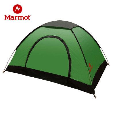 Marmot/土拨鼠户外2人轻便快捷加大手抛帐蓬野外野营露营双人蓬账 VIP专享96折