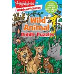 预订 Wild Animal Riddle Puzzles [ISBN:9781629799261]