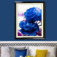 菲绣十字绣 蓝色妖姬 客厅大画 精准印花全新上架
