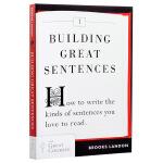 【中商原版】如何造句 英文原版 Building Great Sentences 英语写作学习指南 雅思托福写作指导书