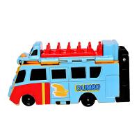 [当当自营]BANDAI 万代 反反变身车-小飞象巴士变身狮子王辛巴巴士 BANC74005