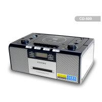 熊猫CD机CD500 cd机 dvd机教学机收录机USB cd复读机 cd播放机 全功能复读机(视频同步)收音电子调谐