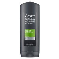 【每满100减50】多芬(Dove) 男士+护理 清新倍爽沐浴露 250g