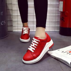 ELEISE美国艾蕾莎新品060-71985休闲女士板鞋