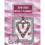 预订 2019-2020 Weekly Planner: A Pretty and Simple 1-Page Per