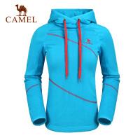 Camel骆驼 户外女款卫衣 秋冬新款女上衣 纯棉保暖女士衣