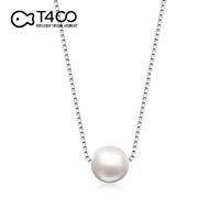 【925银 天然淡水珍珠 经典百搭 】T400小珍珠锁骨链纯银项链