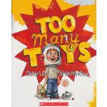 Too Many Toys - Audio [Audiobook, CD] [Audio CD]玩具大作战(大卫・香农作品)(书+CD)ISBN9780545694599