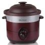 益美黑紫砂电炖锅插电砂锅陶瓷慢炖煮粥煲汤锅小炖锅全自动