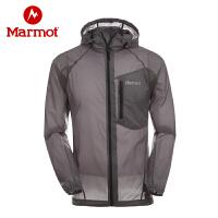 Marmot/土拨鼠户外运动皮肤衣超轻透气防晒皮肤风衣