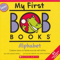 My First Bob Books: Alphabet 我的第一套鲍勃书:学习字母 ISBN9780545019217